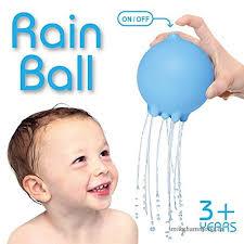 yingealy easy to clean and storage children s cute rain ball bathtub bathroom bath shower toy water