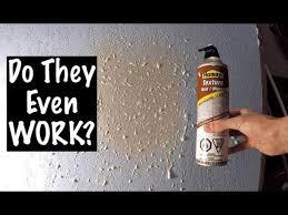 do canned drywall texture sprays work
