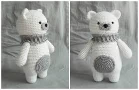 Crochet Bear Pattern Enchanting Polar Bear Amigurumi Free Pattern How To Amigurumi