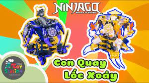 Trọn bộ con quay lốc xoáy LEGO Ninjago cao thủ Spinjitzu 2019 ToyStation  352 - YouTube