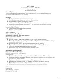 Mechanic Resume Mechanic Resume Examples Computer Repair Technician Computers 19