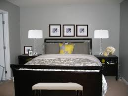 black furniture for bedroom. Bedrooms Carpeted Floors Grey Walls Dark Furniture Black For Bedroom