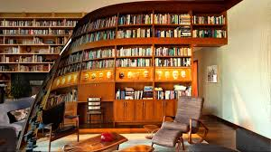 Home Office Library Design Ideas Modern Within With Regard To Property