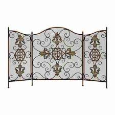 Unique fireplace screens Custom Antique Unique Metal Fireplace Screen Rustic Farm Home Accent Furniture Fireplace Screens Page Rustic Farm Home