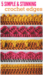 Crochet Border Patterns