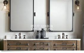 white bathroom vanity mirrors. Bathtub Ideas:Lovely White Tilting Bathroom Vanity Mirror Restoration Hardware And Cozy Square Mirrors