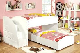 bunk beds with stairs. Stairway Bunk Beds Alluring Twin With Stairs White Wood Storage Loft