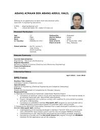 28 Resume For Job Sample With Professional Peppapp