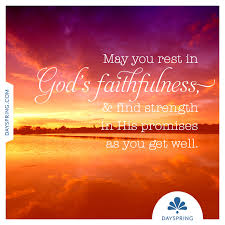 Get Well Christian Quotes Best Of Rest In God's Faithfulness Ecards DaySpring