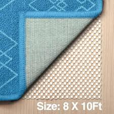 non slip area rug pad gripper extra thick floors durable strong 8 x area rug pad