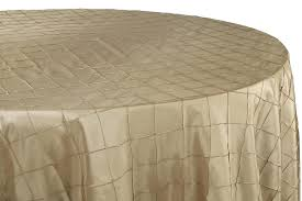 brown round tablecloth