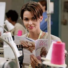 ruby rose orange is the new black wink. tap to play gif ruby rose orange is the new black wink r