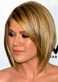 Back View Of Medium Layered Hairstyle Long Layered Bob Haircuts ...