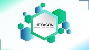 Template Powerpoint Themes Free Hexagon Google Slides