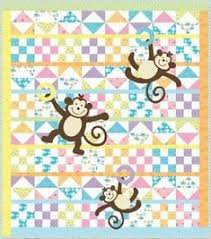 free patterns for baby quilts   The monkey baby quilt is taking ... & Free Baby Quilt Patterns Adamdwight.com