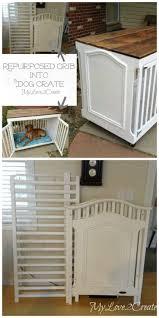 designer dog crate furniture ruffhaus luxury wooden. Repurpose A Crib Into Dog Crate More Designer Furniture Ruffhaus Luxury Wooden