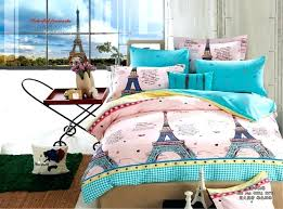 eiffel tower comforter twin 4 pieces cotton tower bedding set queen size eiffel tower bedding twin eiffel tower comforter