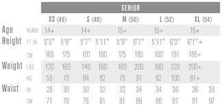 Easton Hockey Size Chart Easton Mako Hockey Pants Senior Pure Hockey Equipment