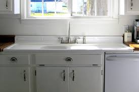 Old Fashioned Sinks Kitchen With Side Boards  Farmhouse Sink With Kitchen Counter With Sink