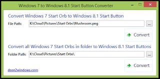 Windows 7 To Windows 8 1 Start Button Converter Convert Windows 7
