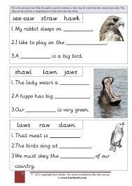 For the au/aw phonics bundle, my fabulous artist created paw themed borders and game boards and they phonics worksheets, esl worksheets, phonics flashcards, phonics board games, phonics. Phonics Fill In Missing Aw Words In The Sentence Teaching Resources