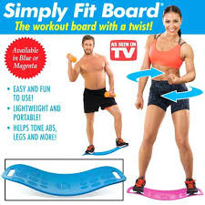 as seen on tv twist board simply fit exercise board with as seen on tv