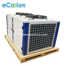 Air Compressor Room Design China 30hp Condensing Unit With Bitzer Compressor And Air