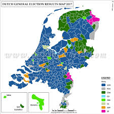 2012 Election Chart Dutch Election Results 2017 2012 Map Netherlands
