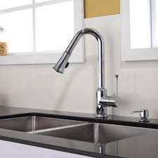 image of kitchen sink faucet installation