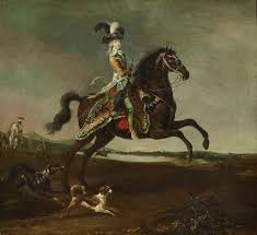 Marie-Antoinette, <b>Queen</b> of France, <b>riding</b> - Louis-Auguste Brun ...