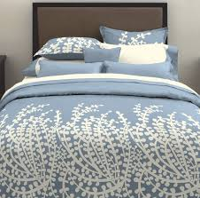 blue and white branches queen duvet cover for bedroom decoration ideas