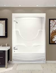fiberglass tub shower enclosures. Interesting Fiberglass Acrylic Bathtub The Figaro U0026 Shower Enclosure  To Fiberglass Tub Shower Enclosures R
