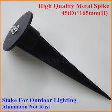 15x lamp metal stake for led flood light lamp rod led garden lawn light spike for