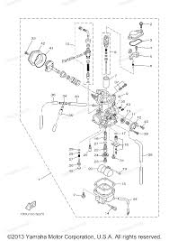 CARBURETOR ttr125 wiring diagram on general electric motors wiring diagram gem