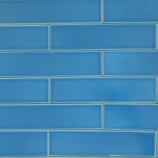 blue tiles. Sample Of Ceramic Subway Tile French Blue | Modwalls Designer Tiles