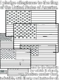 American Flag Coloring Sheet Free Printable Flag Coloring Page Flag