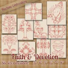 Redwork Machine Embroidery Designs Free Pin On Embroidery Christian Symbols