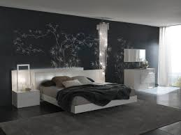 trendy bedroom furniture. Contemporary Bedroom Furniture With Black Trees Wall Lighting And Lamp Rugs White Storage Trendy D
