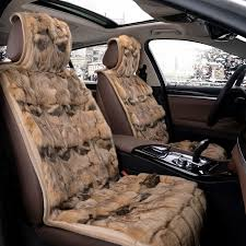 get ations dedicated fur fox fur winter car seat cushion seat cover wide of the honda bin chi