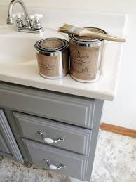 painting a bathroom vanity. Painted Bathroom Vanity Michigan House Update Painting A