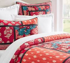 Lola Patchwork Quilt and Sham | Pottery Barn &  Adamdwight.com