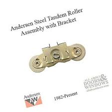 andersen gliding patio door tandem roller assembly 1982 to present