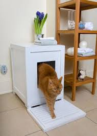 Accessories: Cat Litter Box Chairs - Pet Furniture