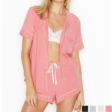 Short Pajamas T6t Rose Luster 201910 Moo Dull Victoria Secret Victorias Secret The Supersoft Modal Short Pj Supermarket Software