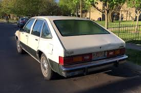 Cc Capsule 1980 Chevrolet Citation Its The First Chevy Of The 80s