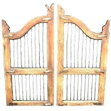 wooden indoor gate s child