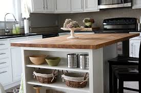 okay so our kitchen island is topped with ikea s numerÄr oak countertop