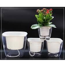 office flower pots. Image Is Loading Self-Watering-Planter-Flower-Pots-Home-Office-Desktop- Office Flower Pots P