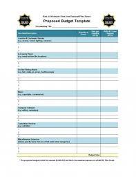 Wonderful Microsoft Word Budget Worksheet 5starproduction