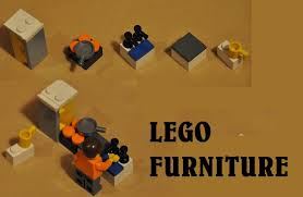 LEGO Furniture- design your Lego house!